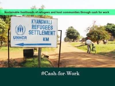 Cash for work, Kyangwali